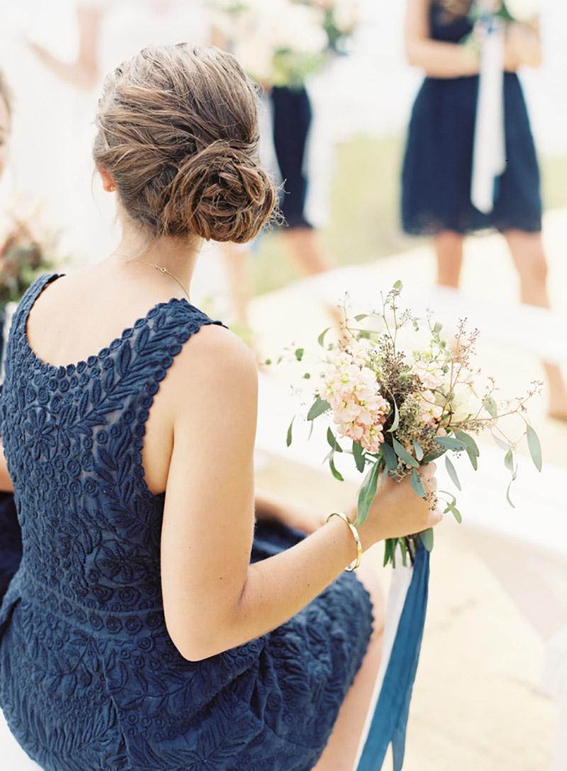 coque lateral para madrinha de casamento