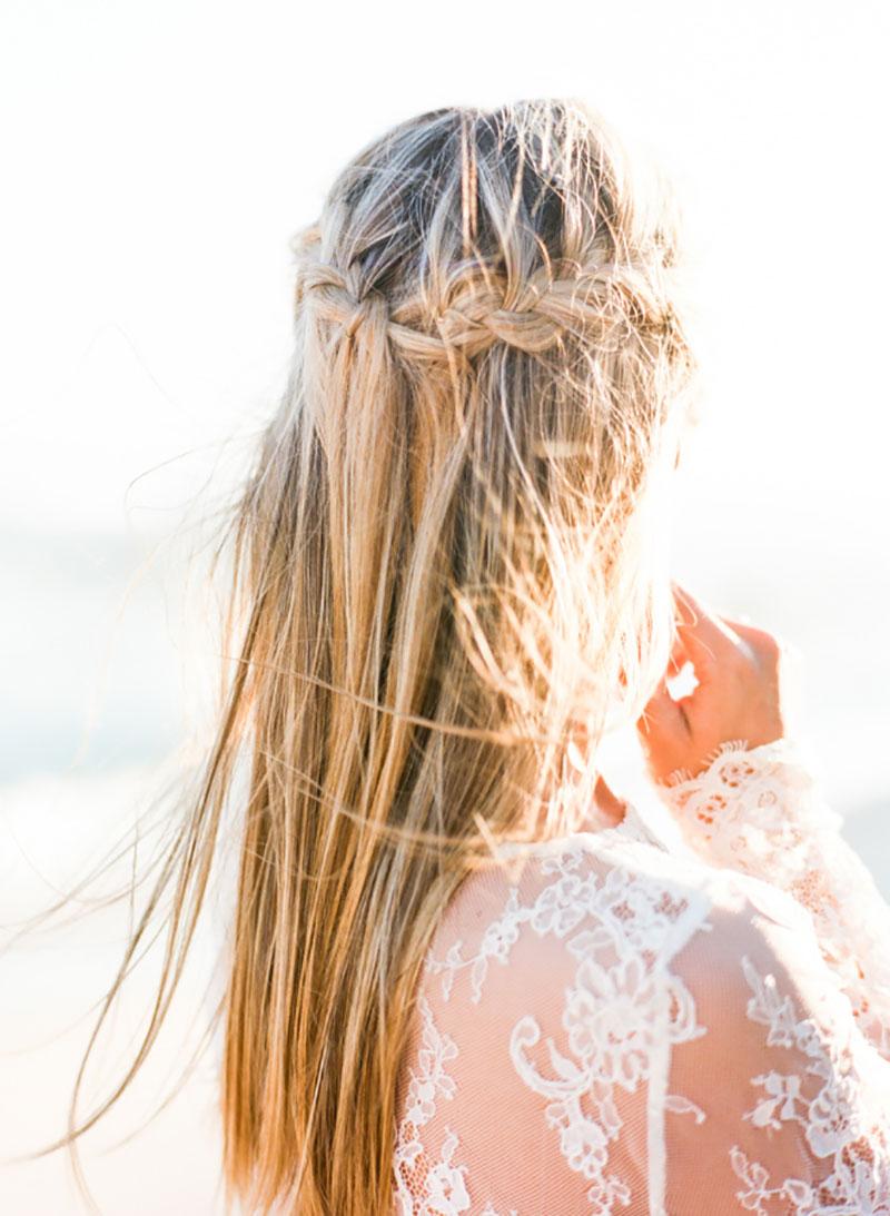 beach waves penteado para madrinhas de casamento