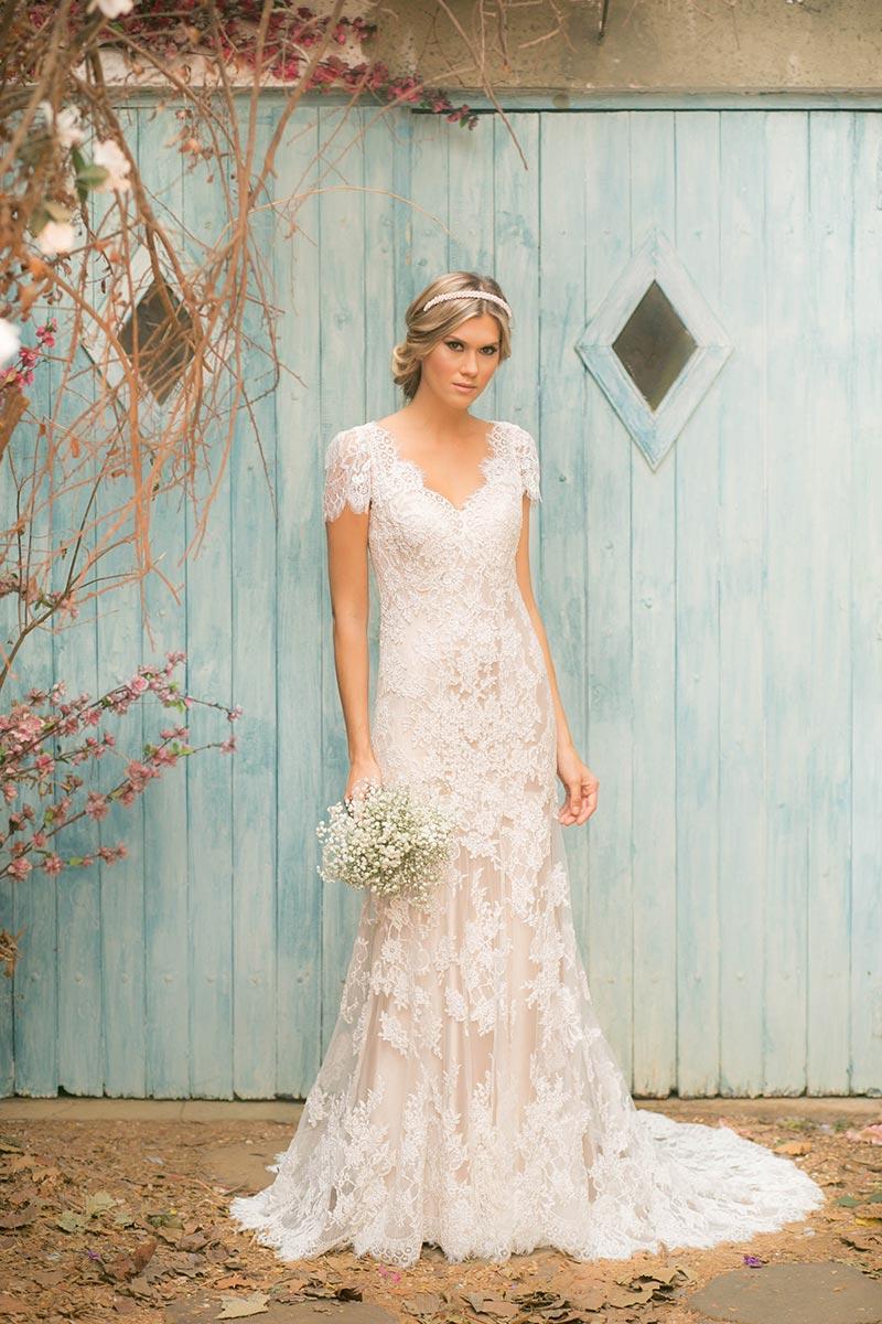 vestido de noiva rose noiva nas nuvens