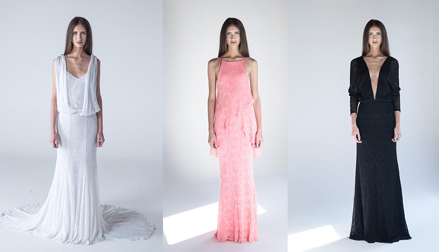 Vestido de noiva e festa em tricô | Coleção Trinitá + Cecilia Prado