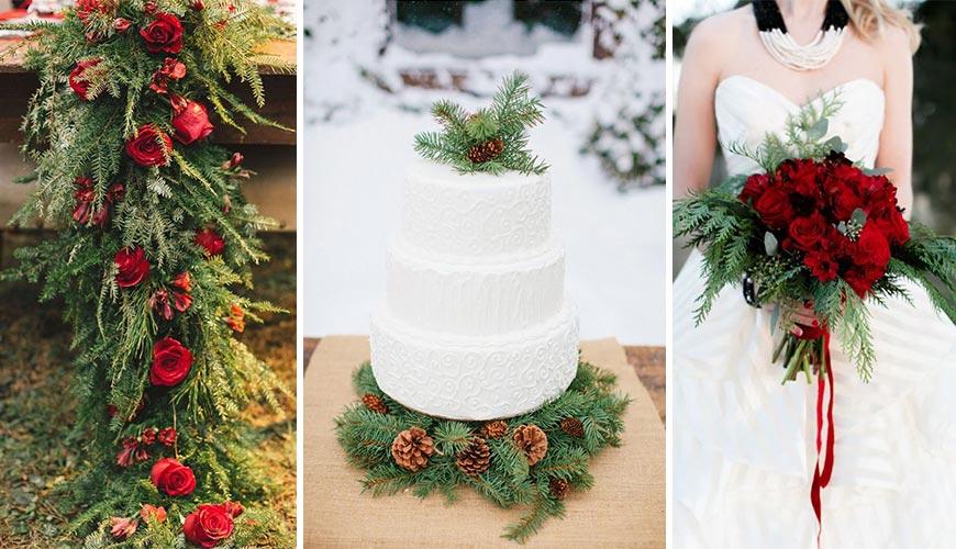 9 ideias para fazer o Casamento inspirado no Natal