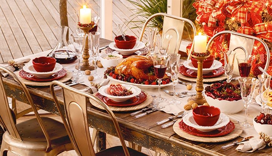 Itens de Natal para incluir na sua lista de presentes do casamento