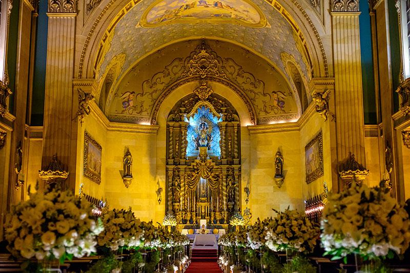 decoração de casamento clássica