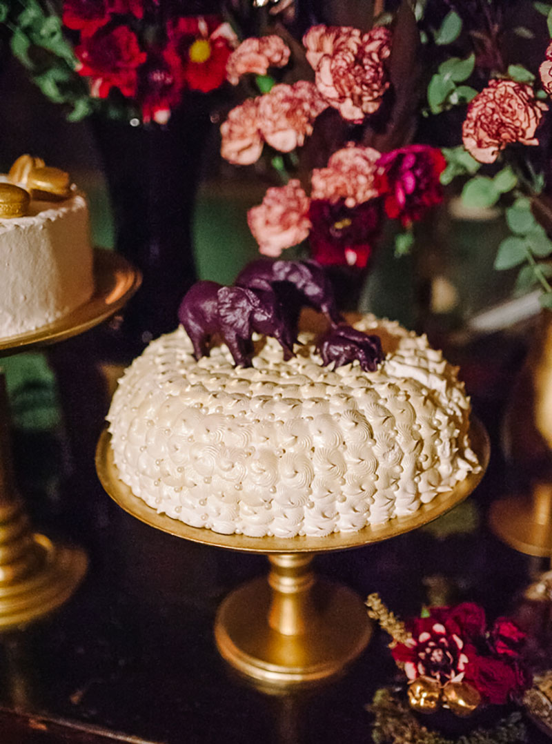 bolo moderno de casamento