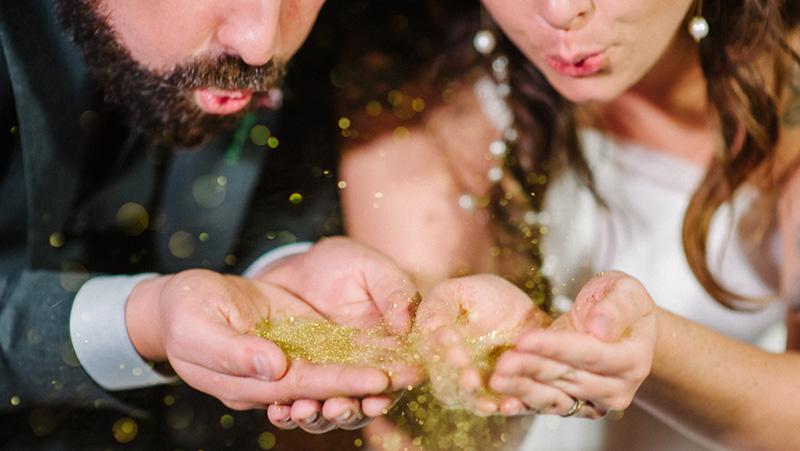 foto pós-casamento noivo e noiva