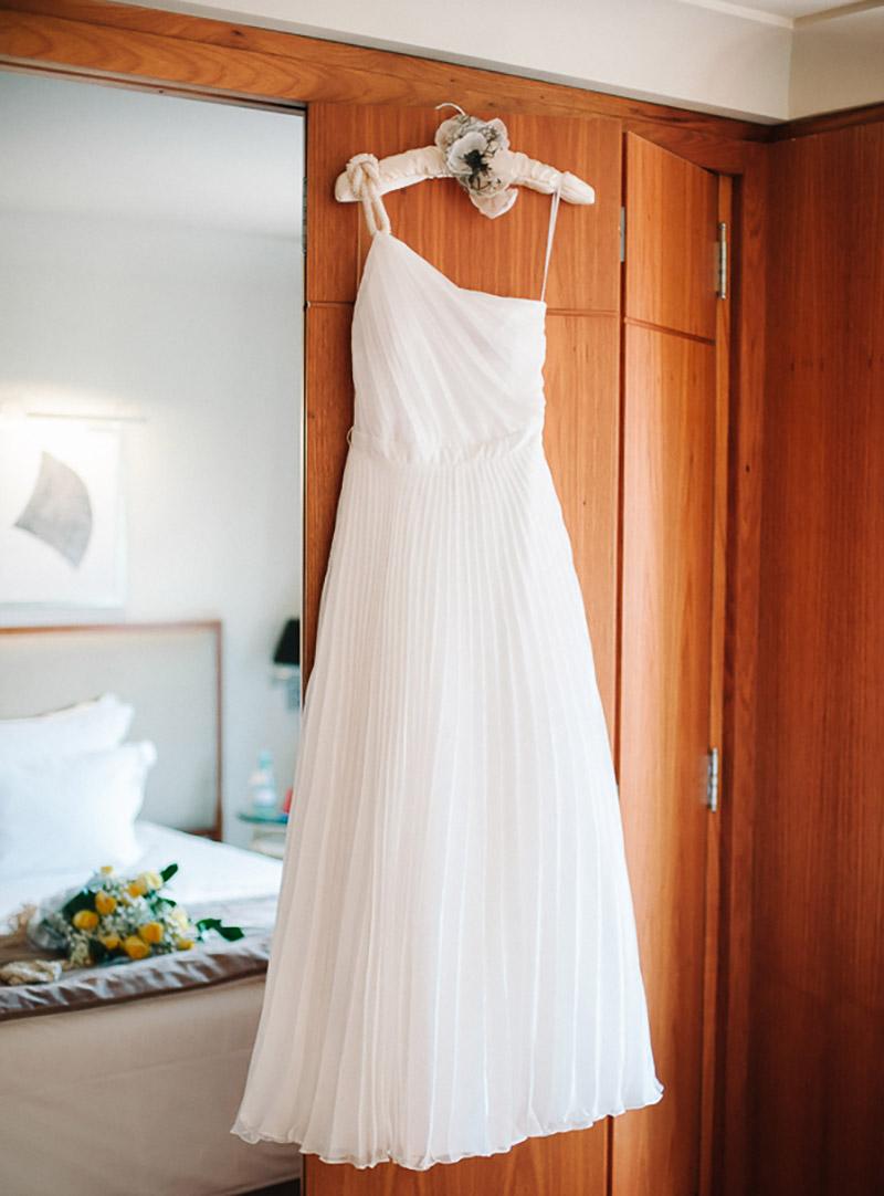 vestido de noiva A Modista