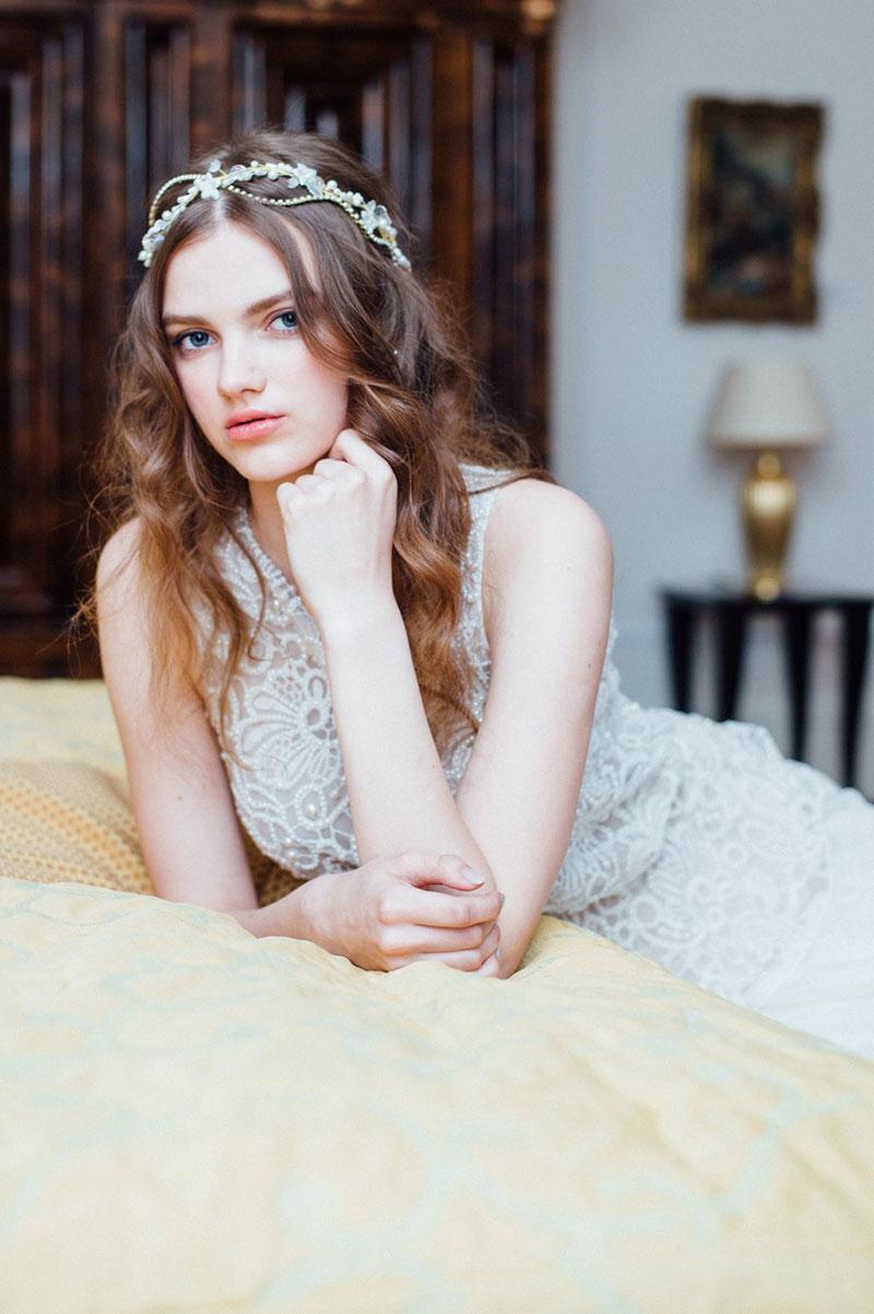 vestido de noiva com renda e leveza Solaine Piccoli