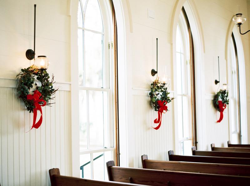 guirlanda de Natal para casamento