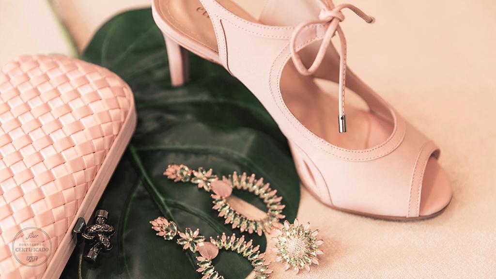10 ideias para usar sapato da noiva colorido