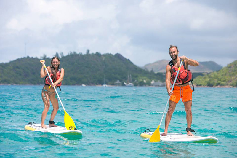 esportes aquáticos nas Ilhas Seychelles TM Travel