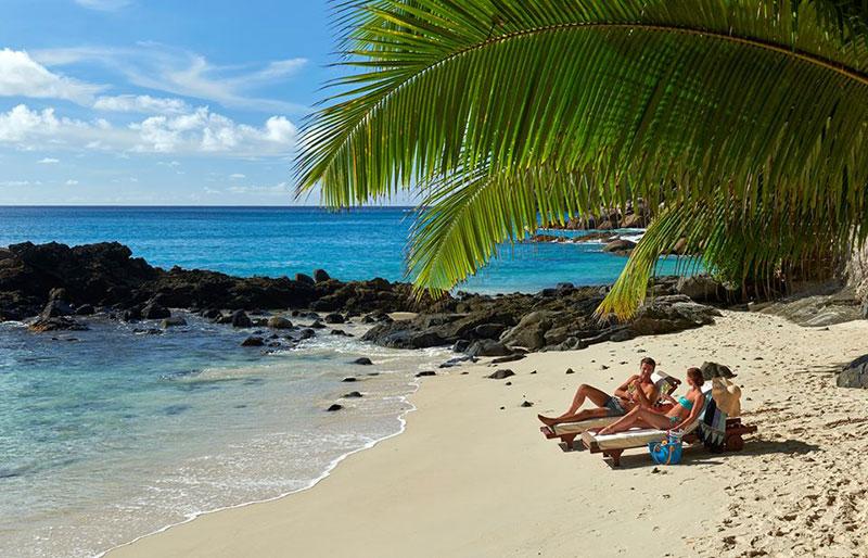 lua de mel na praia Ilhas Seychelles TM Travel