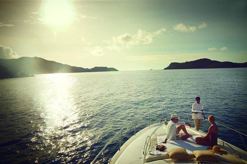 passeio de barco na lua de mel nas ilhas seychelles TM Travel