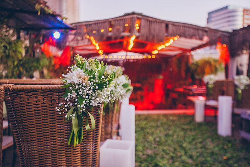 espaço de casamento para mini wedding
