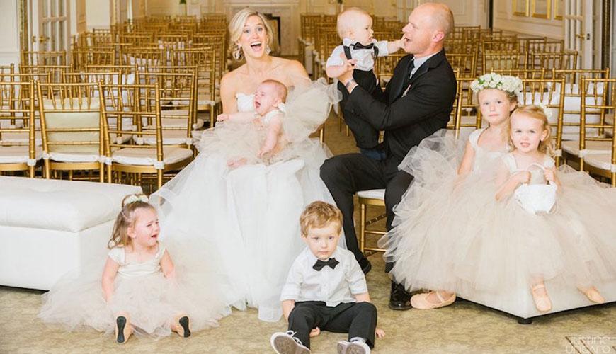 6 dicas do que não fazer com suas daminhas e pajens de casamento