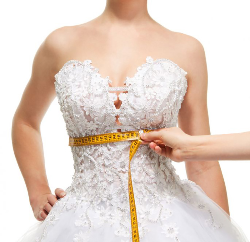 medidas de vestido de noiva para comprar pela internet