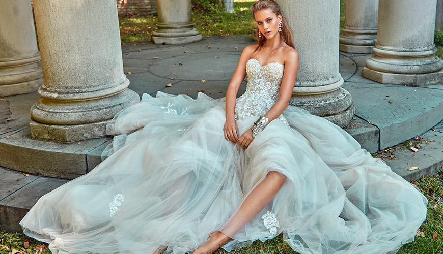 30 vestidos de noiva com transparência: Tendência para 2017 efeito tatuagem na pele