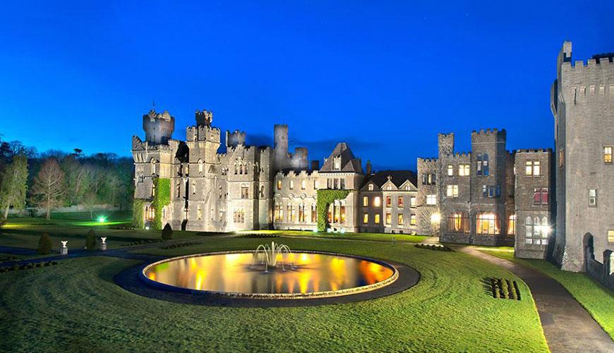 Lua de mel em castelos românticos pela Europa