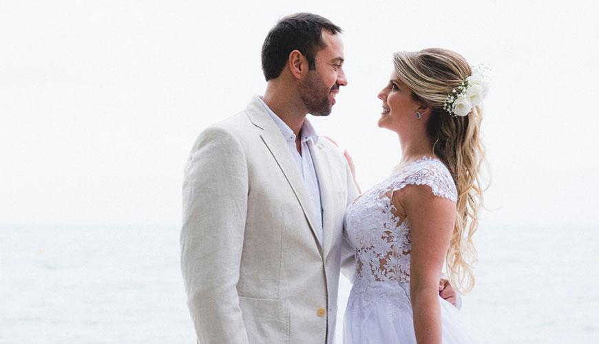 Casamento Real na praia | Camilla e Igor