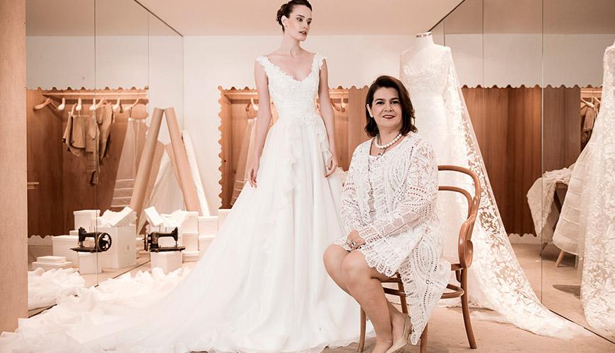 15 estilistas de vestido de noiva poderosas no Brasil