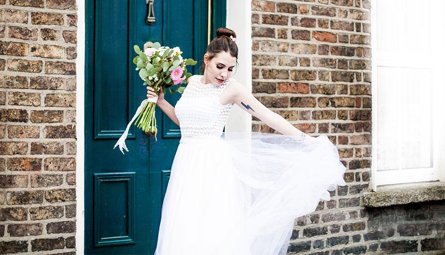 Inspirações para um lindo Mini Wedding com vestido de noiva de crochê