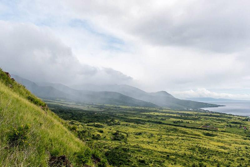 Paisagem em Kitts