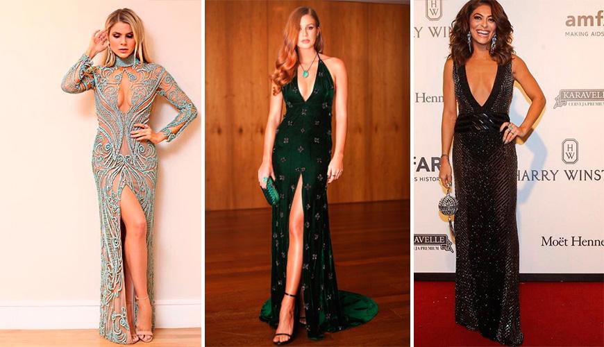 Vestidos de festa: 20 modelos das famosas no amfAR São Paulo 2017