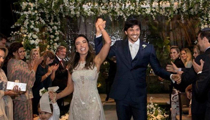 Patrícia Abravanel e Fabio Faria se casam em uma super festa em São Paulo
