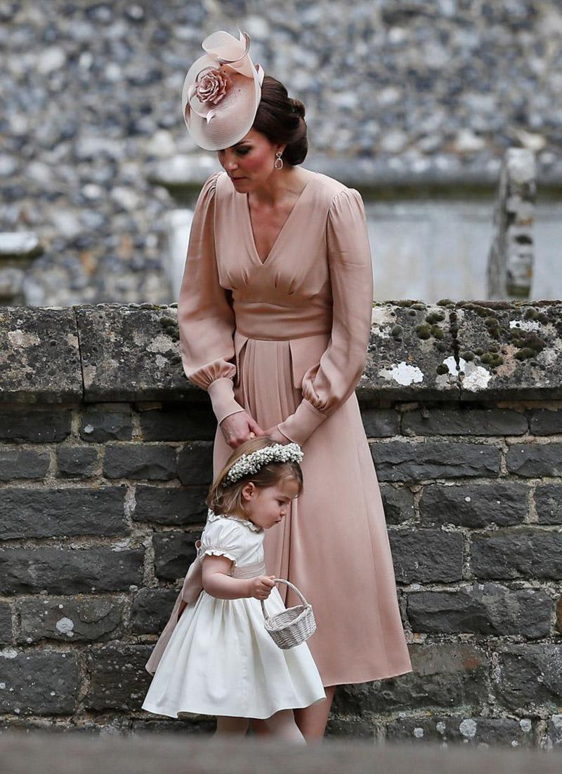 Vestido da princesa Kate no casamento da irmã