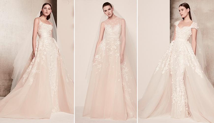 Melhores e mais inspiradores vestidos da NY Bridal Week Spring 2018