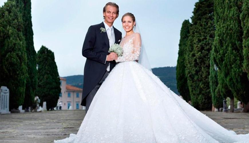 Casamento milionário de Victoria Swarovski, herdeira da marca mais famosa de cristais