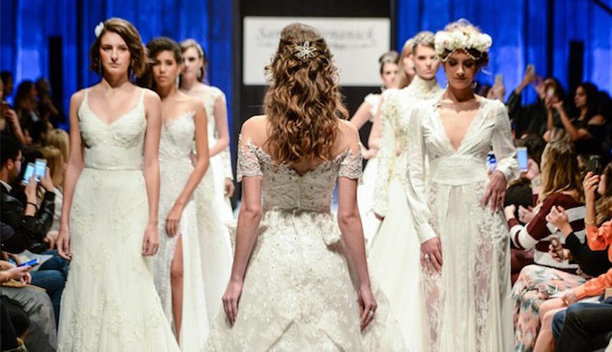 Samuel Cirnansck desfila coleção noiva em São Paulo
