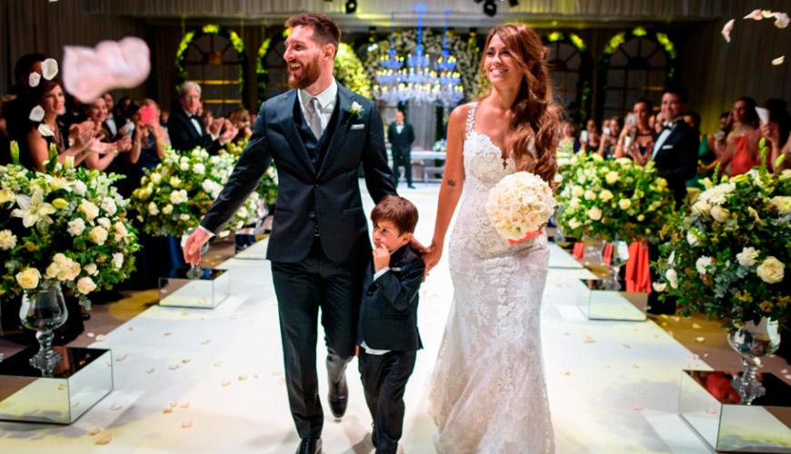 Casamento badalado do Jogador Lionel Messi e Antonella Roccuzzo