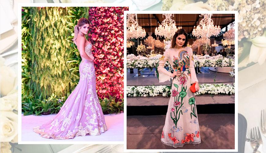 Looks e Vestidos para Madrinha de casamento | Blogueira Thássia Naves