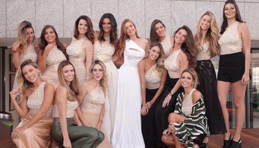 Noiva do ano! Marina Ruy Barbosa faz despedida de solteira, chá de cozinha e chá bar