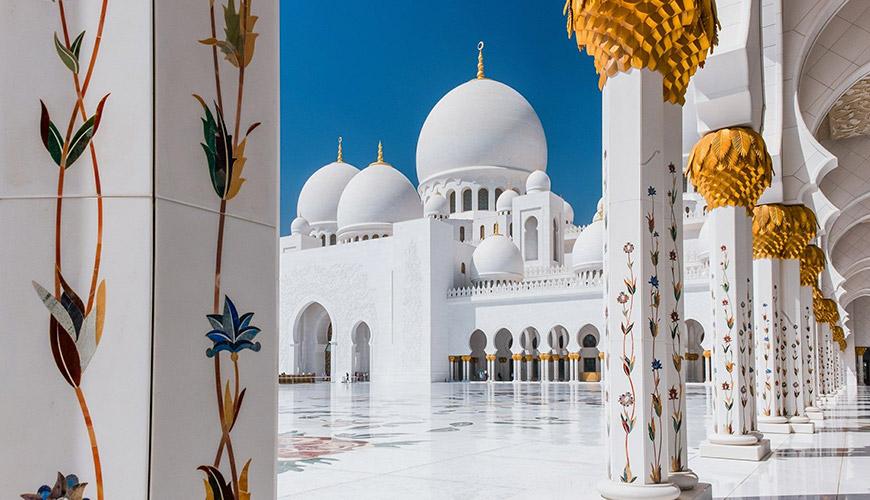 Lua de Mel em Abu Dhabi