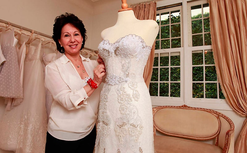 Estilistas de vestido de noiva