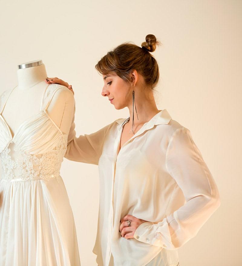 Estilista vestido de noiva