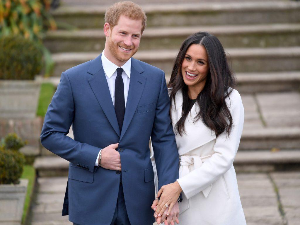 Famosos Princípe Harry e Meghan Markle