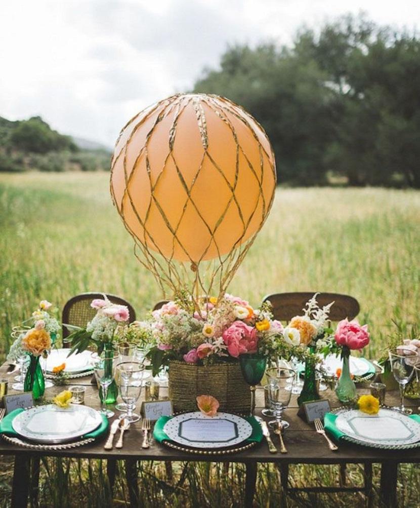 balões na decoração