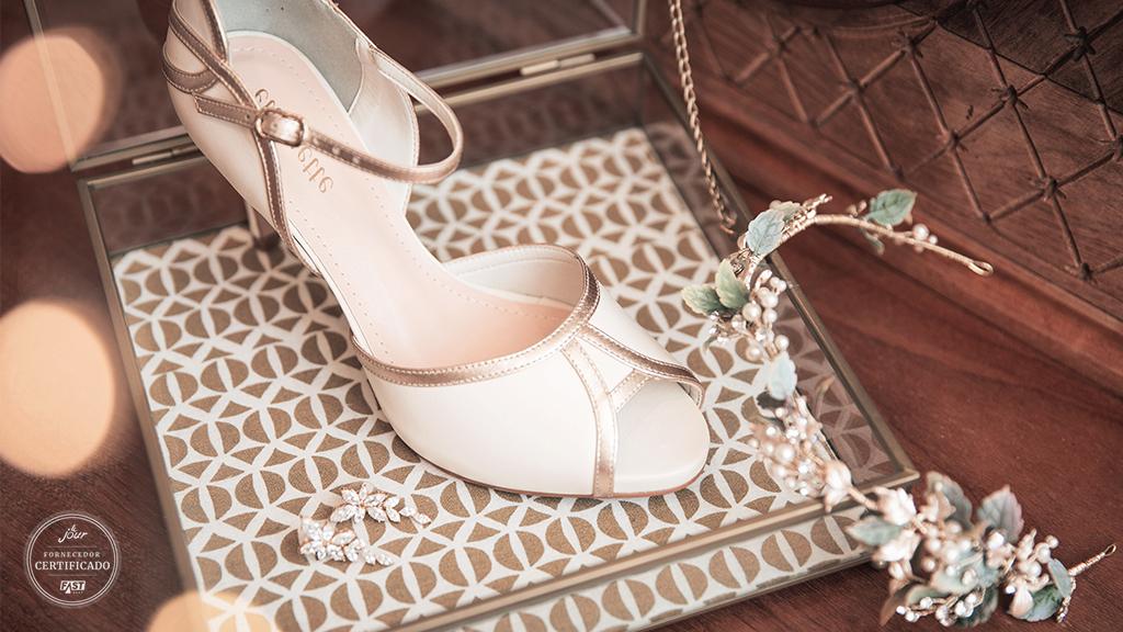 Sapato de casamento: Como escolher o acessório perfeito