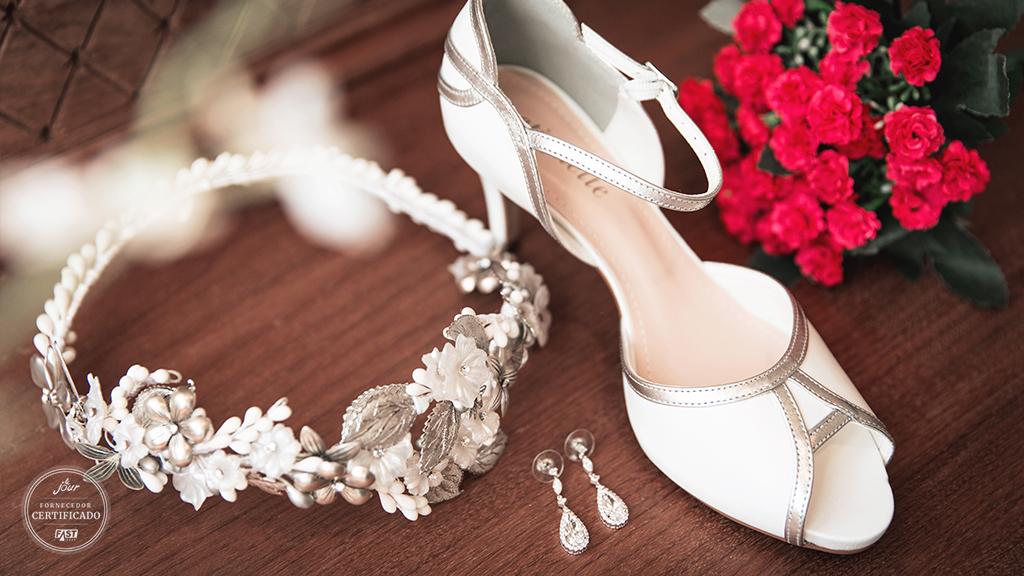 Dicas para escolher o sapato da noiva confortável e lindo