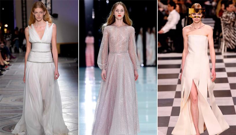 Vestido de noiva: as tendências da Semana de Moda de Alta-Costura