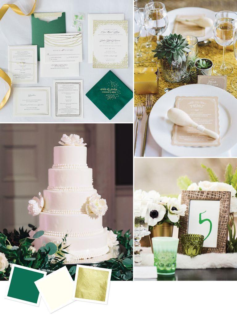 cores decoração casamento