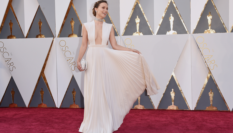 Vestidos brancos lindos usados no Oscar