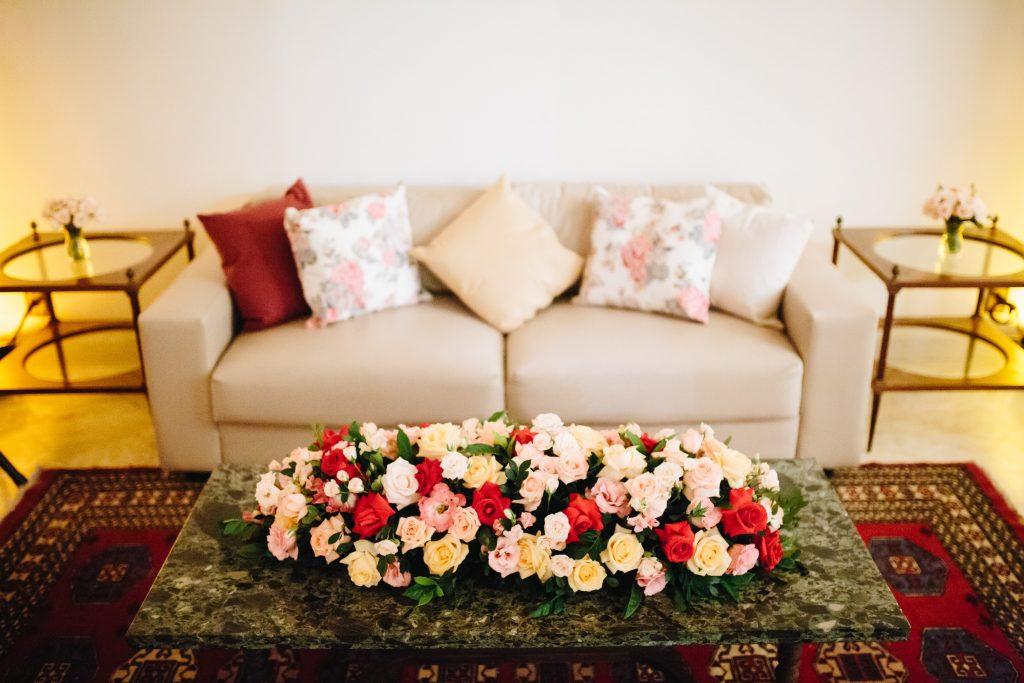 decoração no estilo receber em casa