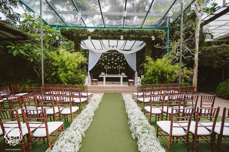 Casamento na Casa das Canoas