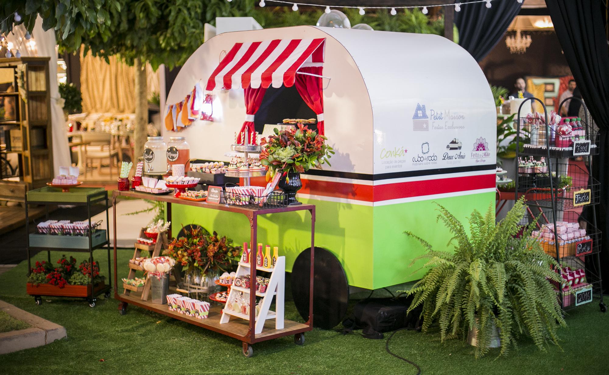 Food trucks e food bikes invadem os casamentos
