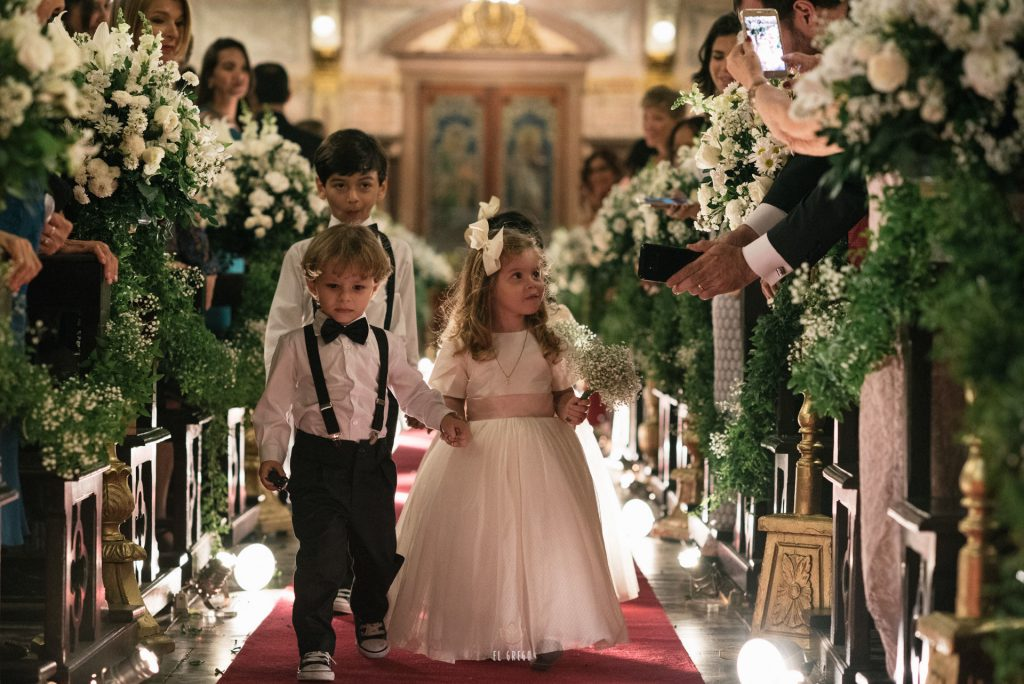 casamento com decoração romântica