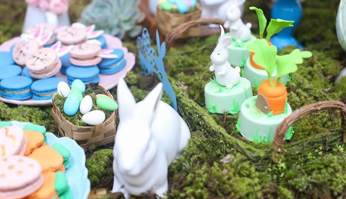 Chá de panela: Decoração com o tema Páscoa
