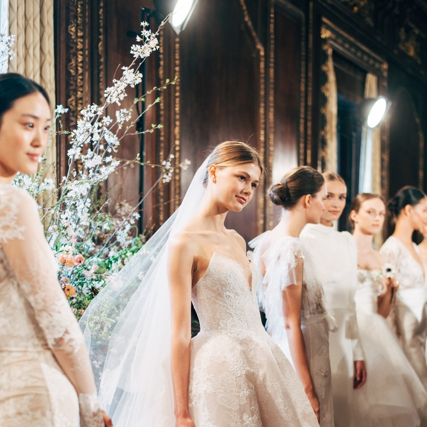 NY Bridal Week: Os vestidos de noiva de Monique Lhuillier